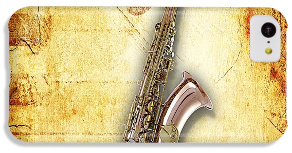 Saxophone Collection IPhone 5c Case by Marvin Blaine
