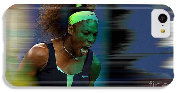 Serena Williams IPhone 5c Case by Marvin Blaine