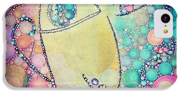 Decorative iPhone 5c Case - Suspicious  by Lisa Claire Harrison