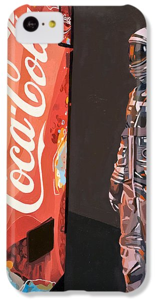 The Coke Machine IPhone 5c Case by Scott Listfield