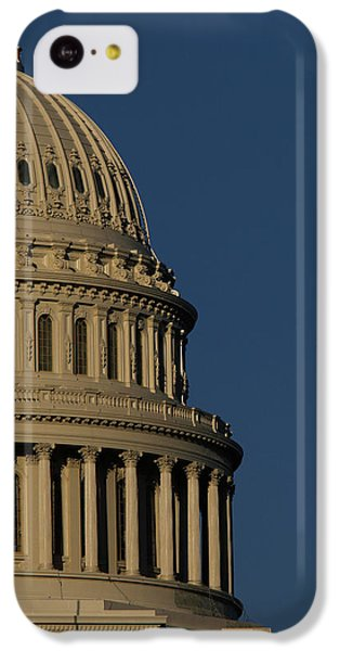 Capitol Building iPhone 5c Case - The West Side Of The United States by Dennis Brack