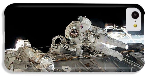 Emu iPhone 5c Case - Tim Peake's Spacewalk by Nasa