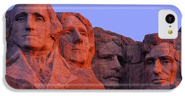 Usa, South Dakota, Mount Rushmore IPhone 5c Case by Panoramic Images