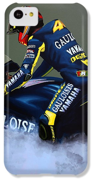 Doctor iPhone 5c Case - Valentino Rossi by Paul Meijering