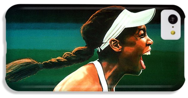 Venus Williams IPhone 5c Case by Paul Meijering