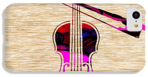 Violin And Bow IPhone 5c Case