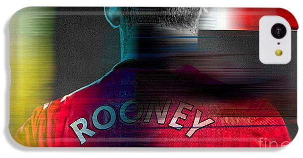 Wayne Rooney IPhone 5c Case by Marvin Blaine