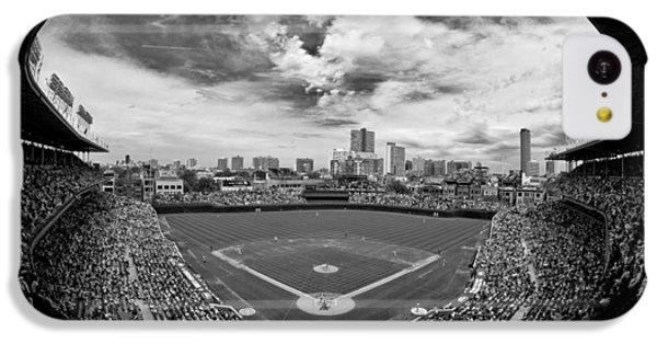 Wrigley Field  IPhone 5c Case by Greg Wyatt