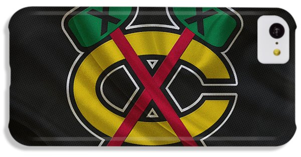 Chicago Blackhawks IPhone 5c Case by Joe Hamilton
