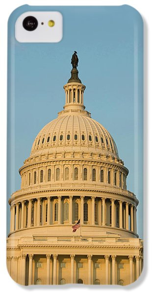 Capitol Building iPhone 5c Case - Washington Dc, Usa by Lee Foster