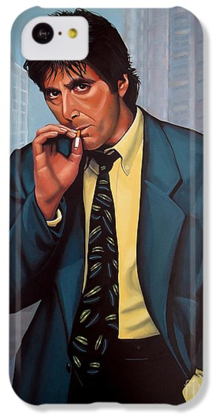 Portraits iPhone 5c Case - Al Pacino 2 by Paul Meijering