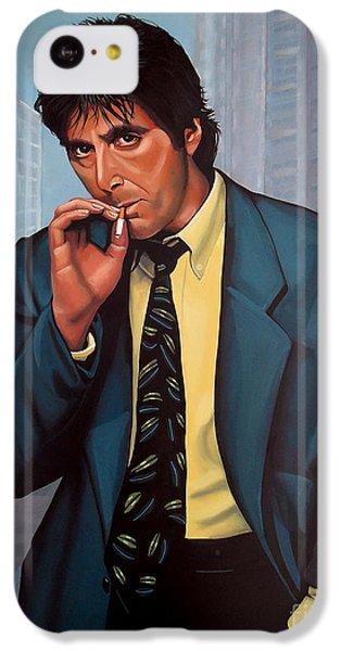 The iPhone 5c Case - Al Pacino 2 by Paul Meijering