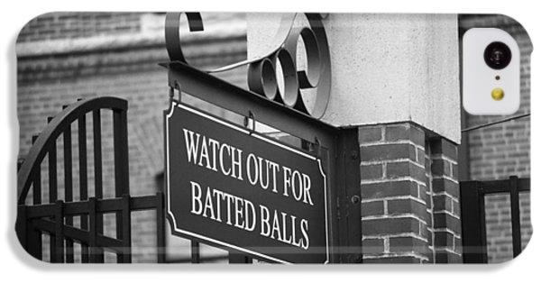 Baseball Warning IPhone 5c Case by Frank Romeo