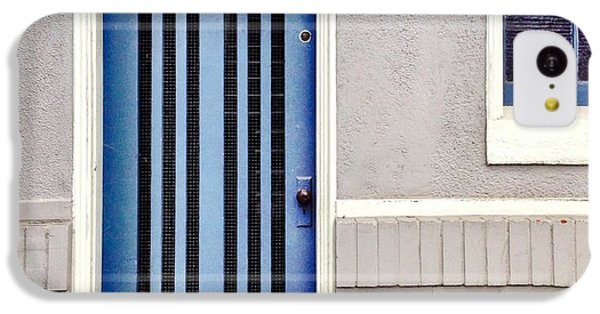 Blue Door IPhone 5c Case