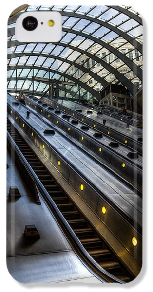 Canary Wharf Station IPhone 5c Case by David Pyatt