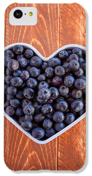 Fresh Picked Organic Blueberries IPhone 5c Case by Teri Virbickis