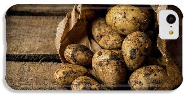 Fresh Potatoes IPhone 5c Case by Aberration Films Ltd