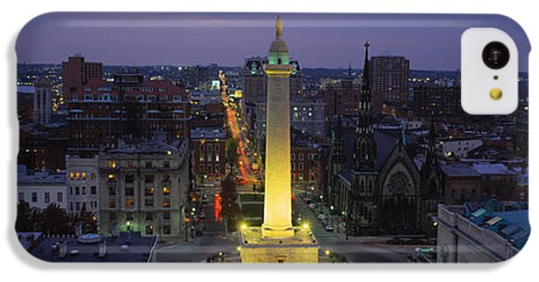 High Angle View Of A Monument IPhone 5c Case by Panoramic Images
