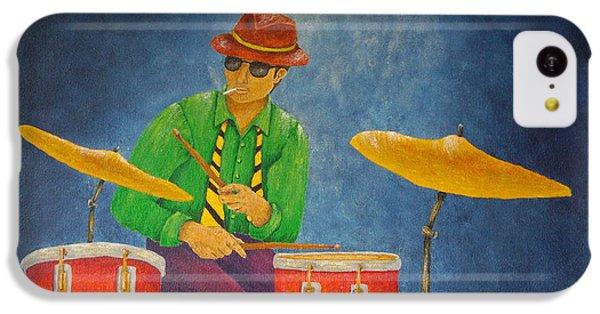 Jazz Drummer IPhone 5c Case