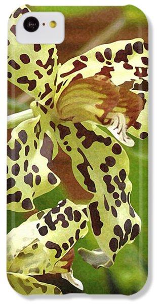 Leopard Orchids IPhone 5c Case