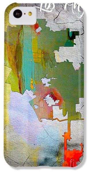 Los Angeles Map Watercolor IPhone 5c Case