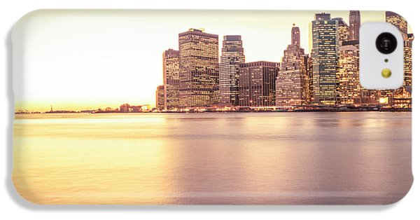City Sunset iPhone 5c Case - New York City by Vivienne Gucwa