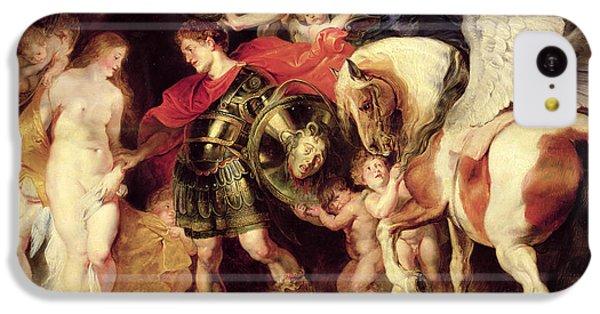 Gorgon iPhone 5c Case - Perseus Liberating Andromeda by Peter Paul Rubens