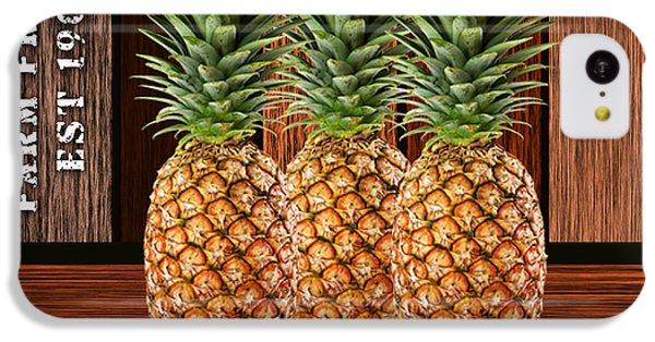 Pineapple Farm IPhone 5c Case by Marvin Blaine