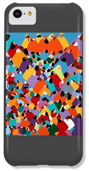 iPhone 5c Case - Powerfull Ywcagla by Synthia SAINT JAMES