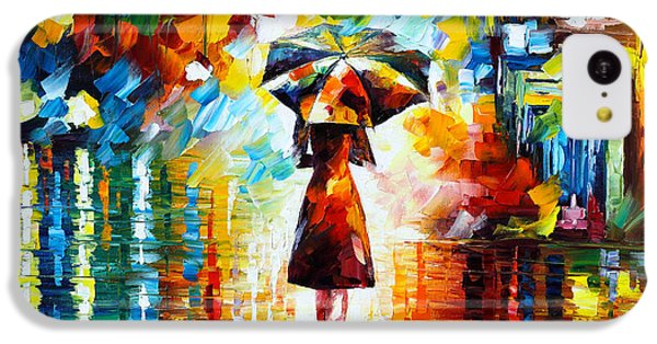Magician iPhone 5c Case - Rain Princess by Leonid Afremov
