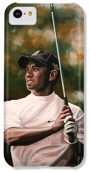 Tiger Woods  IPhone 5c Case