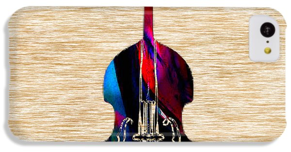Upright Bass IPhone 5c Case by Marvin Blaine