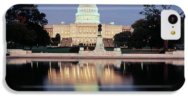Capitol Building iPhone 5c Case - Usa, Washington Dc, Capitol Building by Walter Bibikow