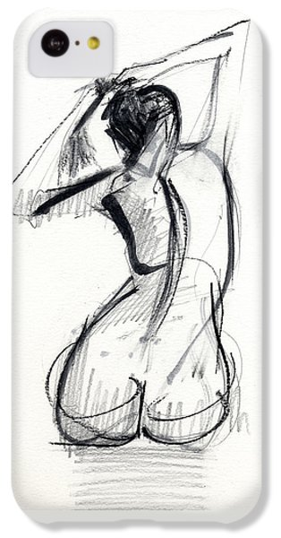 Nudes iPhone 5c Case - Rcnpaintings.com by Chris N Rohrbach