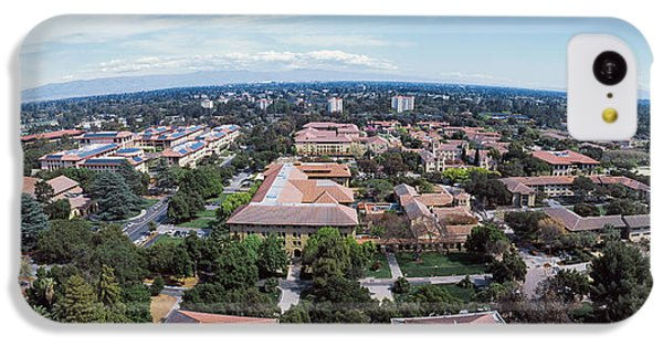 Aerial View Of Stanford University IPhone 5c Case by Panoramic Images