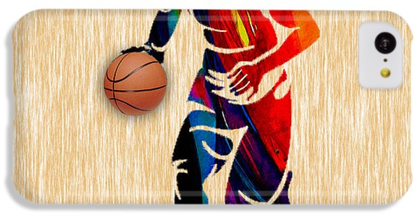 Basketball IPhone 5c Case by Marvin Blaine