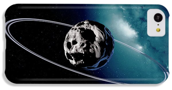 Chariklo Minor Planet And Rings IPhone 5c Case by Detlev Van Ravenswaay