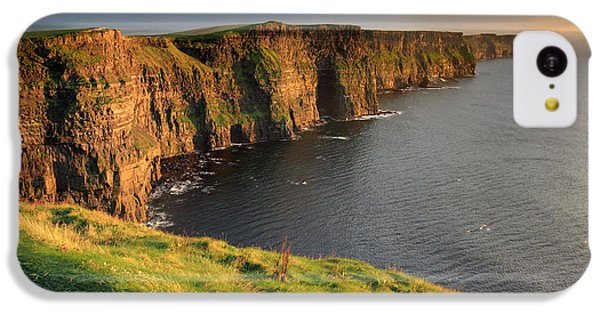 Sunset iPhone 5c Case - Cliffs Of Moher Sunset Ireland by Pierre Leclerc Photography