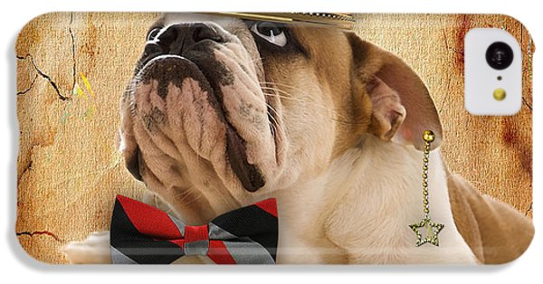 English Bulldog Bowtie Collection IPhone 5c Case by Marvin Blaine