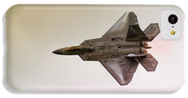 F-22 Raptor IPhone 5c Case by Sebastian Musial