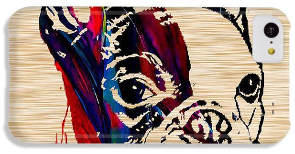 Portraits iPhone 5c Case - French Bulldog by Marvin Blaine