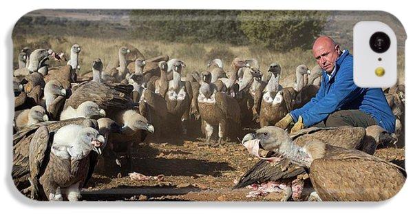 Griffon Vulture Conservation IPhone 5c Case by Nicolas Reusens