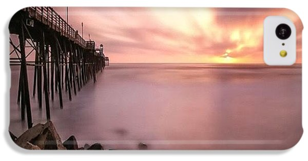 Long Exposure Sunset At The Oceanside IPhone 5c Case