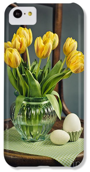 Still Life With Yellow Tulips IPhone 5c Case by Nailia Schwarz