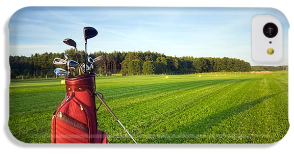 Golf Gear IPhone 5c Case by Michal Bednarek
