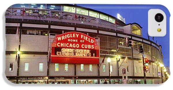 Usa, Illinois, Chicago, Cubs, Baseball IPhone 5c Case by Panoramic Images