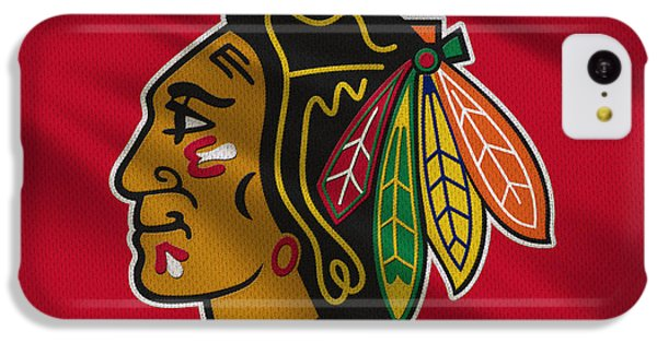 Chicago Blackhawks Uniform IPhone 5c Case by Joe Hamilton