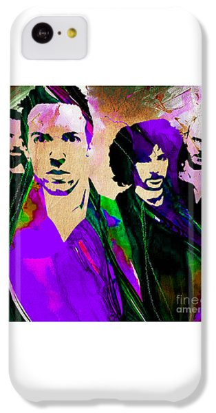 Coldplay iPhone 5c Case - Coldplay Collection by Marvin Blaine