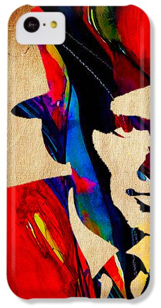 Frank Sinatra IPhone 5c Case by Marvin Blaine