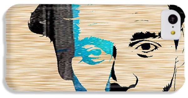 Johnny Depp IPhone 5c Case by Marvin Blaine